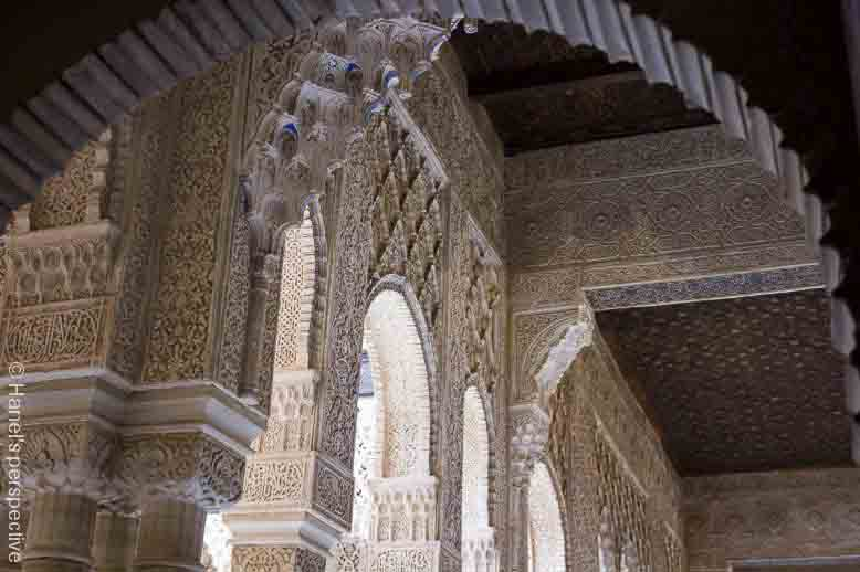 main palace daytime alhambra spain