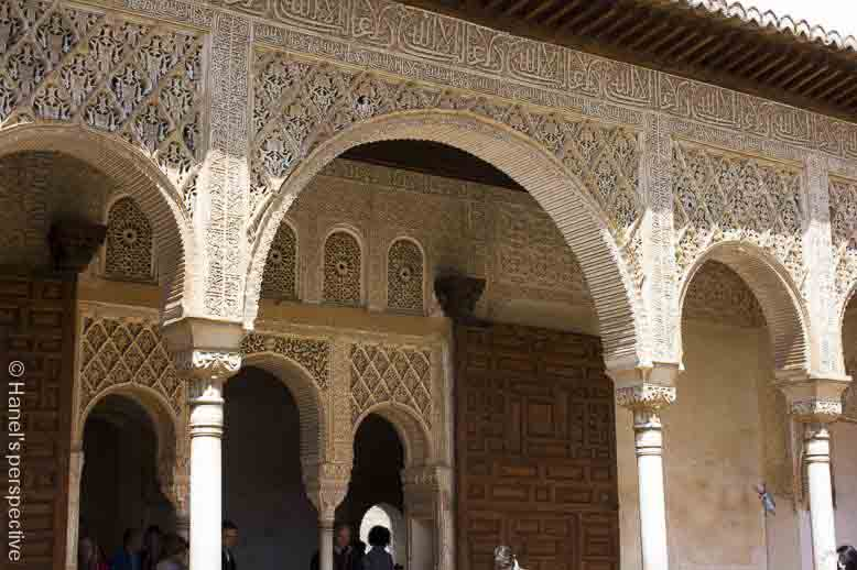 summer palace alhambra spain